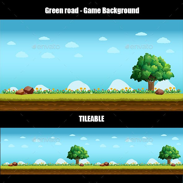 Green Road - Game Background