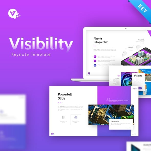 Visibility Multipurpose Creative Keynote Presentation Template