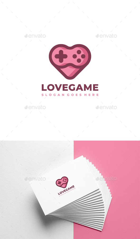 Love Game Logo - Abstract Logo Templates