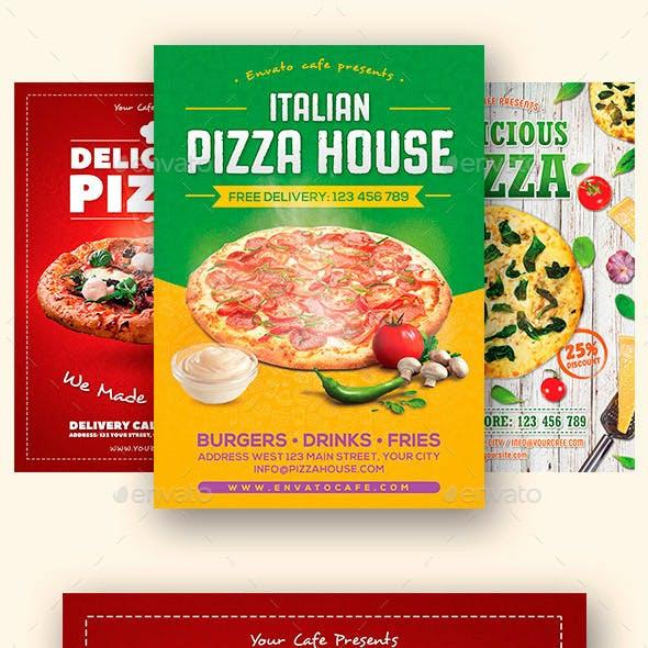 Pizza Flyers  Bundle