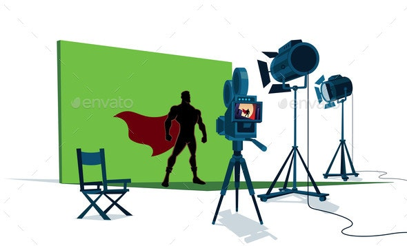 Superhero Movie Set - Industries Business