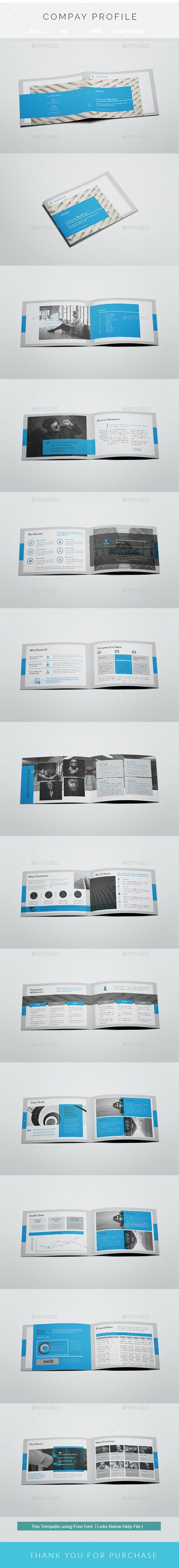 A5 Corporate Brochure - Corporate Brochures