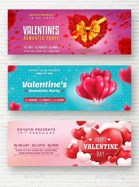 Valentine Web Sliders - Sliders & Features Web Elements