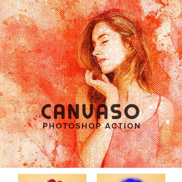 Canvaso Photoshop Action