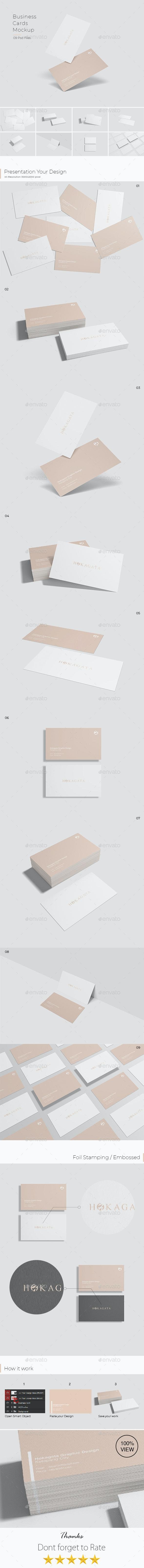 Business Cards Mockups - Business Cards Print
