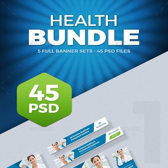 Health Banner Ads Bundle