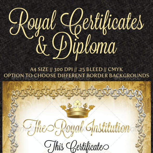 Royal Certificates