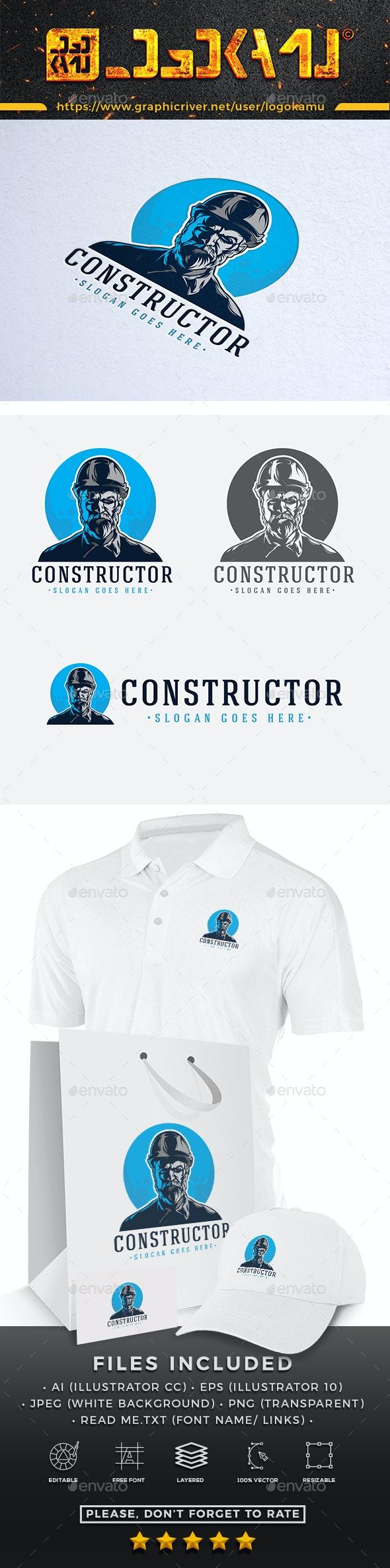 Constructor Logo - Humans Logo Templates