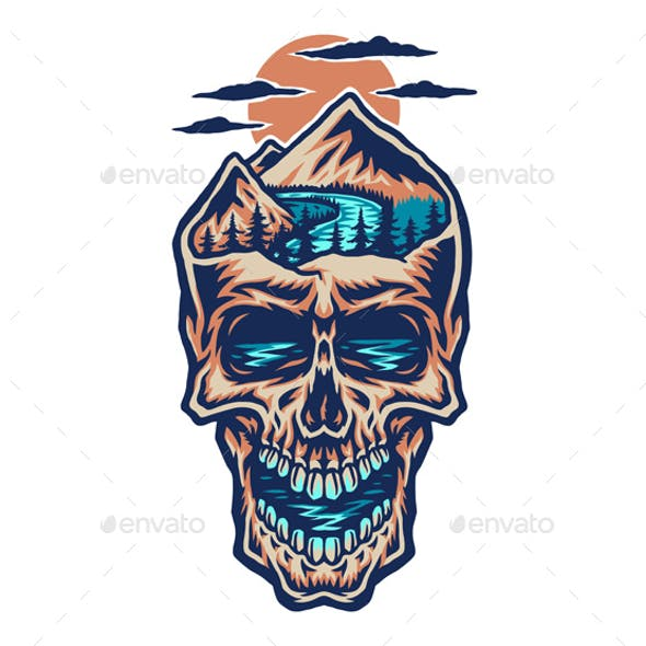 Mountain Head Skull