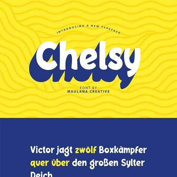Chelsy - Font Sans