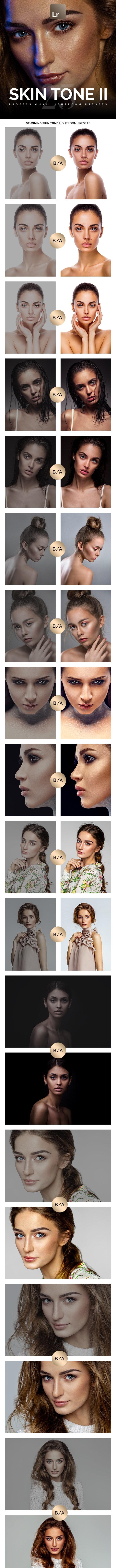 Professional Skin Tone II Lightroom Presets - Portrait Lightroom Presets