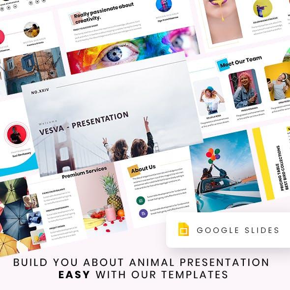 Vesva - Colour Presentation Template