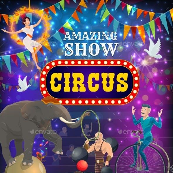 Top Circus Carnival Animals and Magic Show