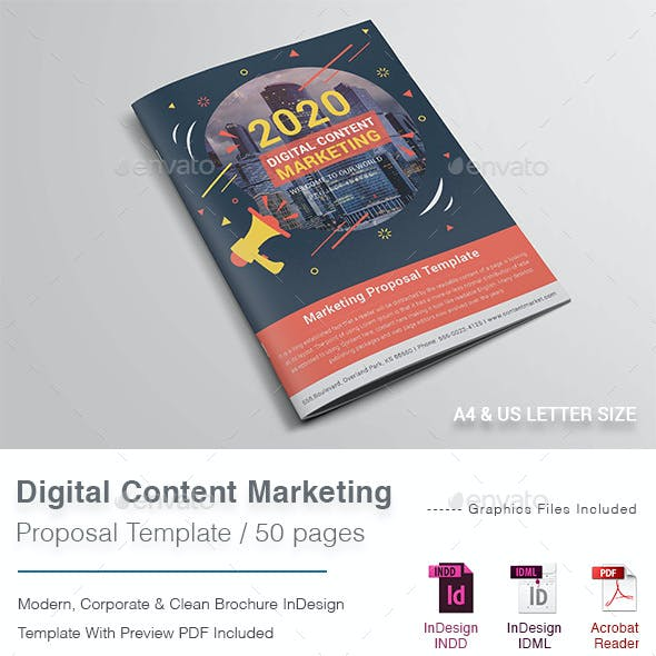 Digital Content Marketing Proposal
