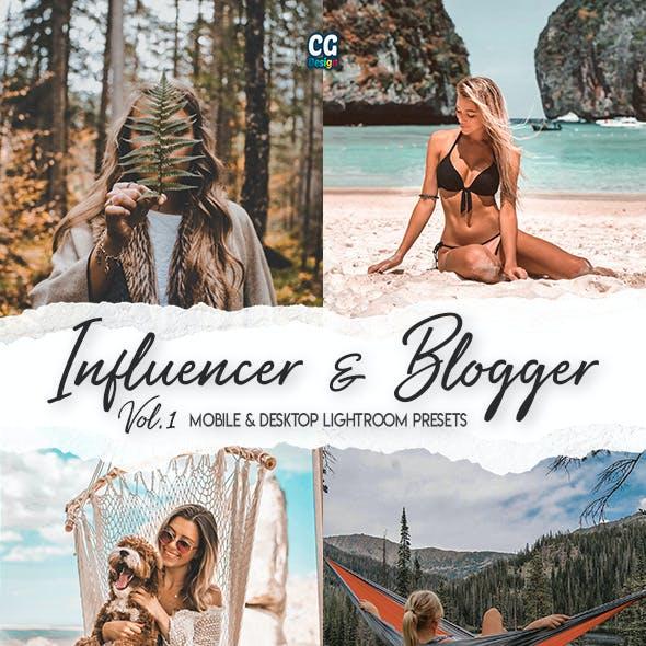 Influencer & Blogger Vol. 1 - 15 Premium Lightroom Presets