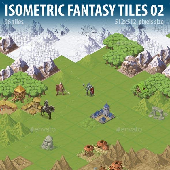 Isometric Fantasy Tiles 02