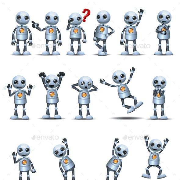 Little Robot Basic Posture