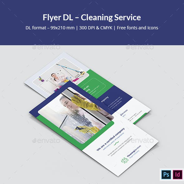 Flyer DL – Cleaning Service
