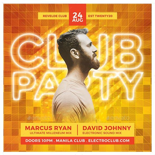 Club Party Flyer