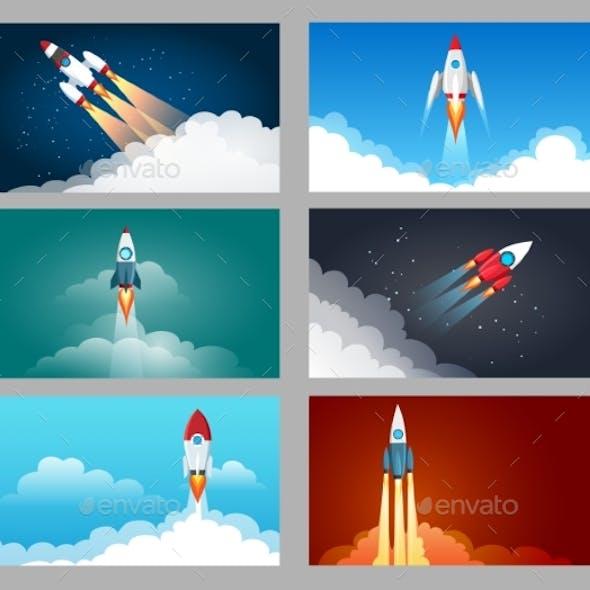 Rocket Launch Starting Set