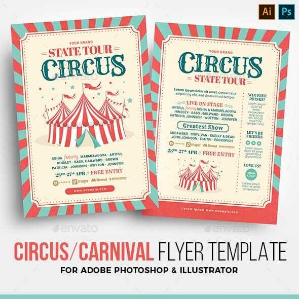 Circus / Carnival Flyer Template