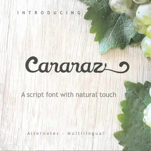 Cararaz Font