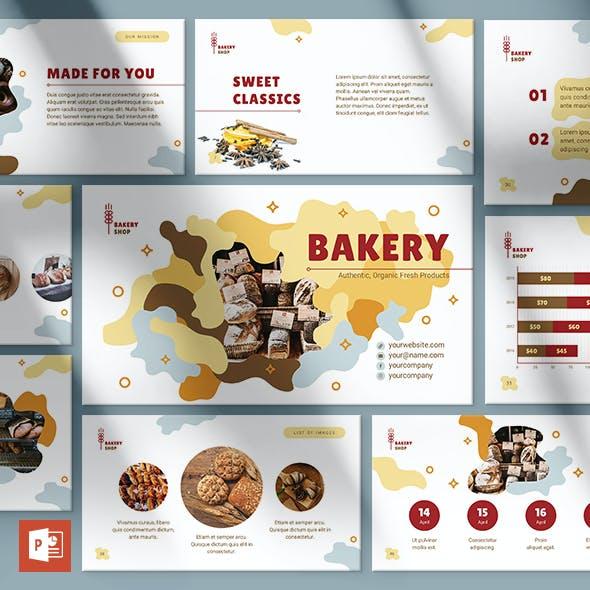 Bakery PowerPoint Presentation Template