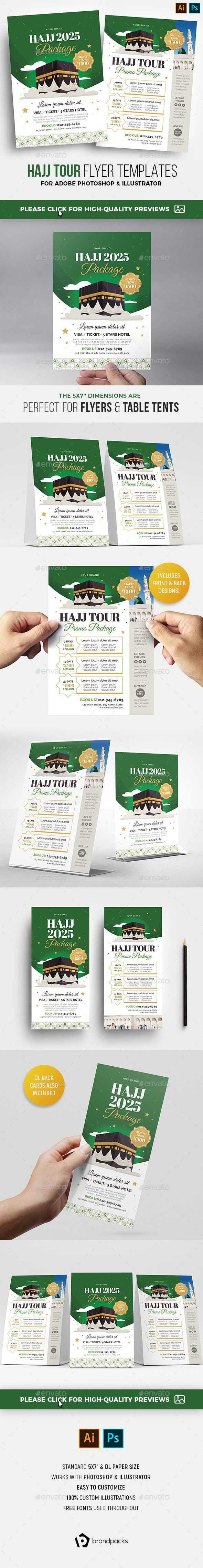 Hajj Umrah Flyer - Church Flyers