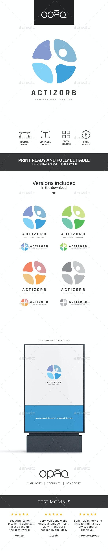 Zorb Human Action Logo - Humans Logo Templates