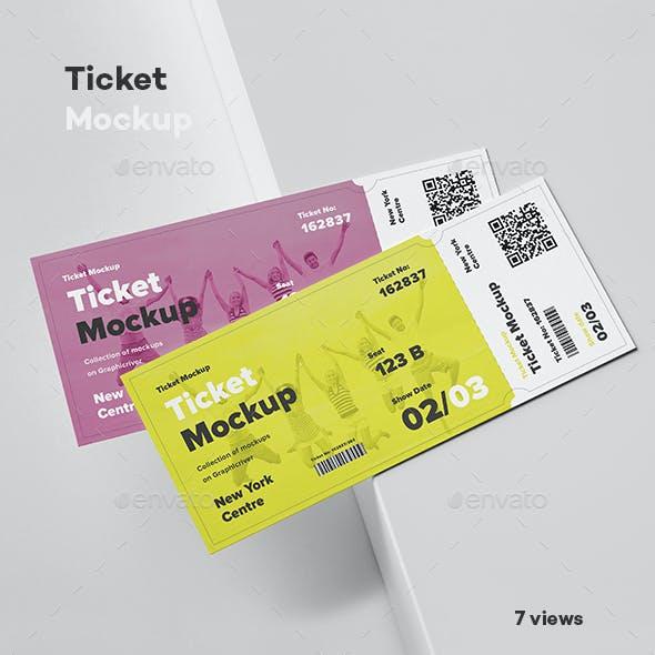 Ticket Mock-up