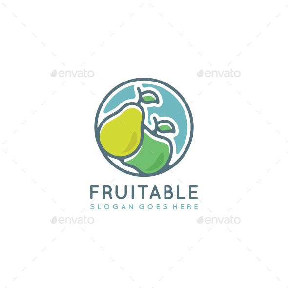 Fruit Logo Template