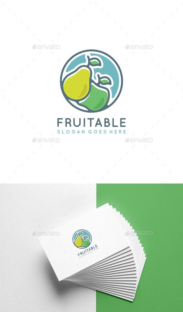 Fruit Logo Template - Nature Logo Templates