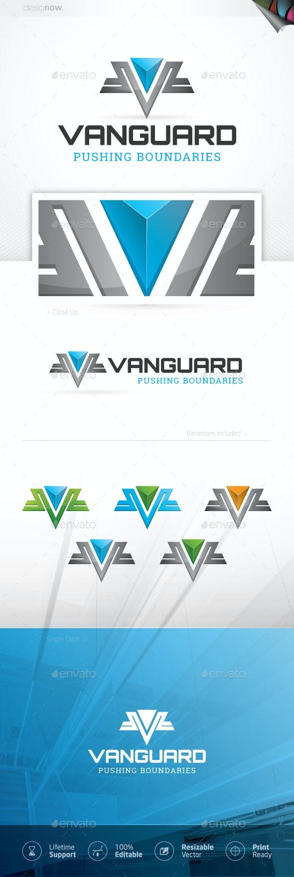 Vanguard Logo - Letters Logo Templates
