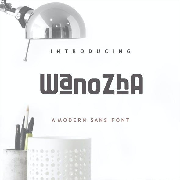 Wanozha Font