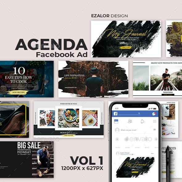 Agenda Facebook Ad Vol 1