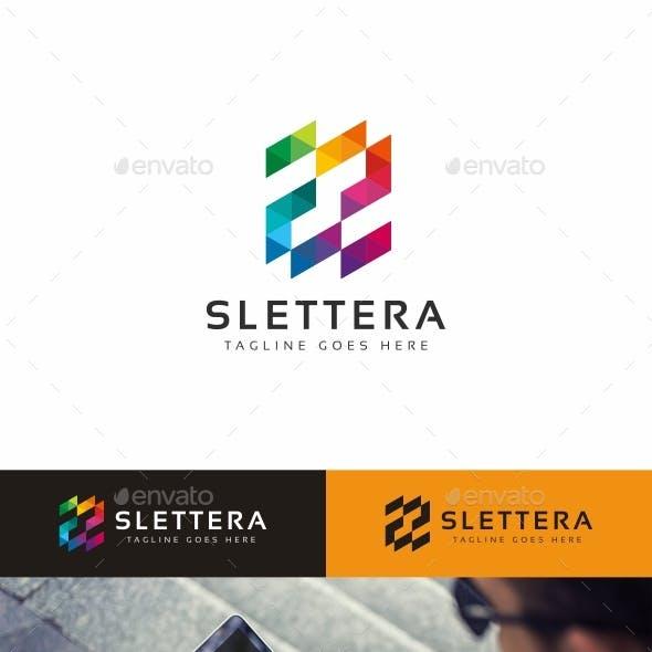 Slettera S Letter Logo Template