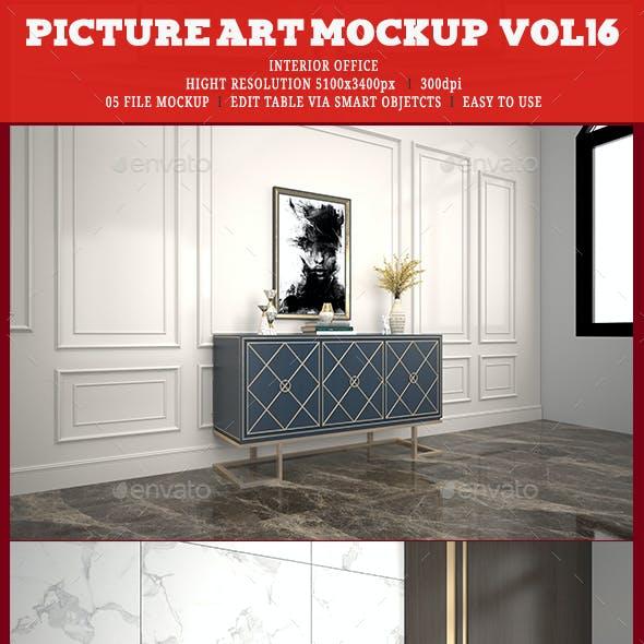 Picture Art Mockup [Vol 16]
