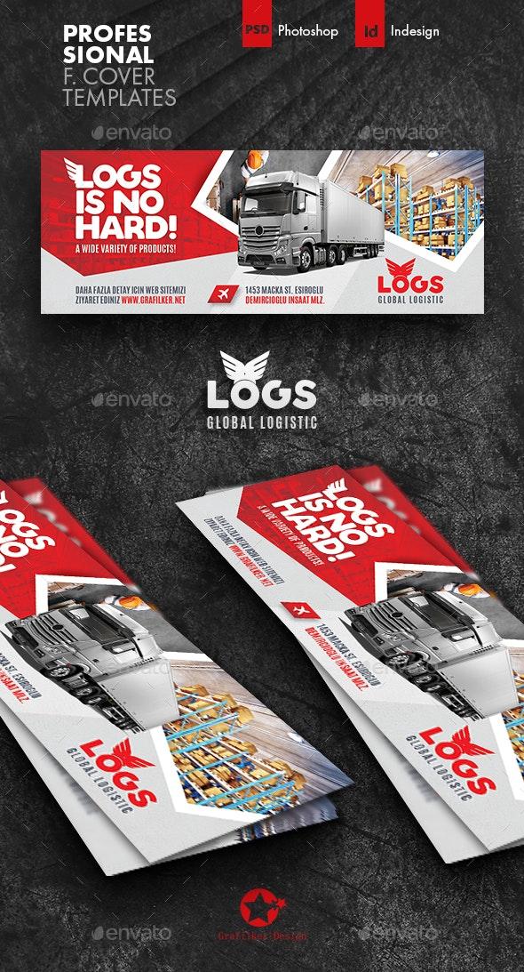 Logistics Cover Templates - Facebook Timeline Covers Social Media