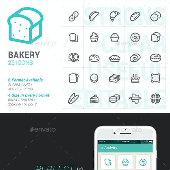 Bakery & Sweet Mini Icon