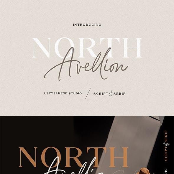 North Avellion - Script & Serif Duo