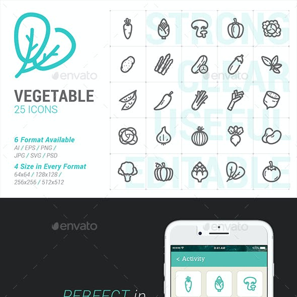 Vegetable Mini Icon