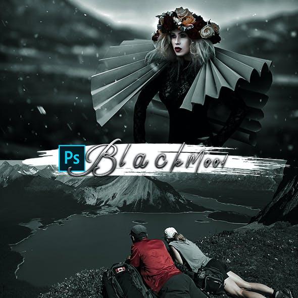 Black Mood Photoshop Action