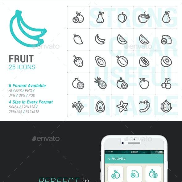 Fruit Mini Icon