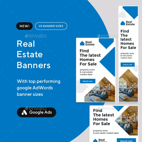 Real Estate Banner Set