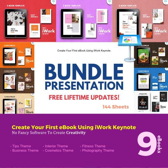 Multipurpose Bundle Presentation Keynote Template - eBook Template