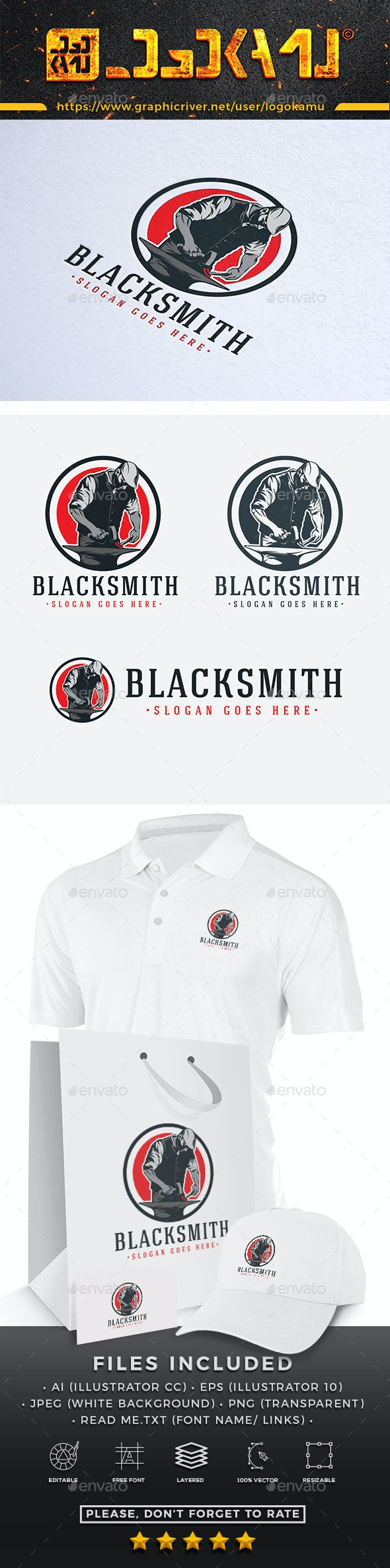 Blacksmith Logo - Humans Logo Templates