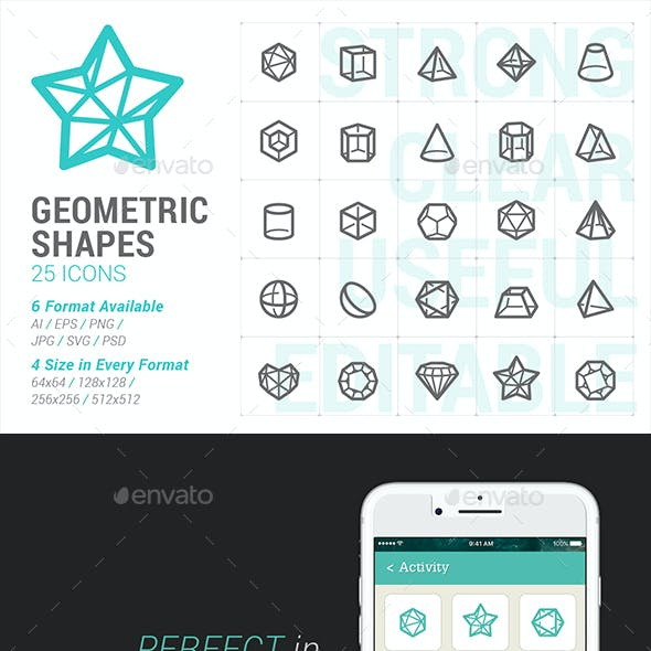 Geometric Shapes Mini Icon