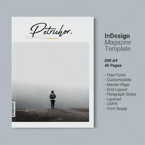 Magazine Template | Petrichor