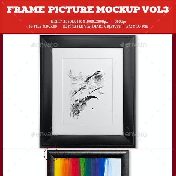 Frame Picture Mockup Vol3