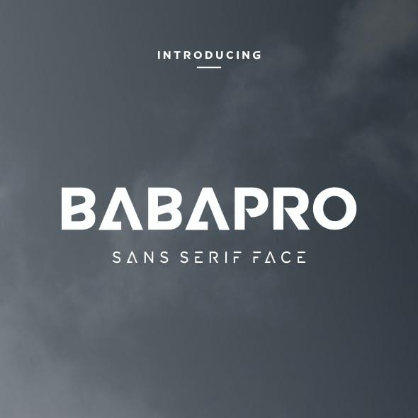 BabaPro Font